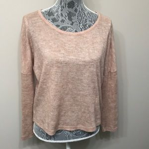Forever 21 juniors light brown sweater size M